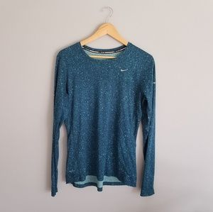 Galaxy Nike Long Sleeve Work Out Running Women's